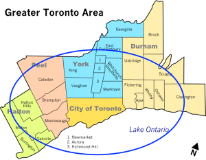 Toronto Cleaning Service Areas