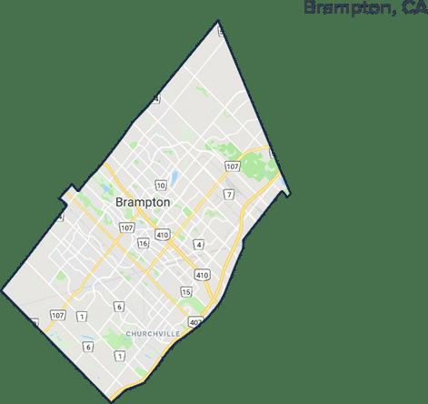 Brampton Map