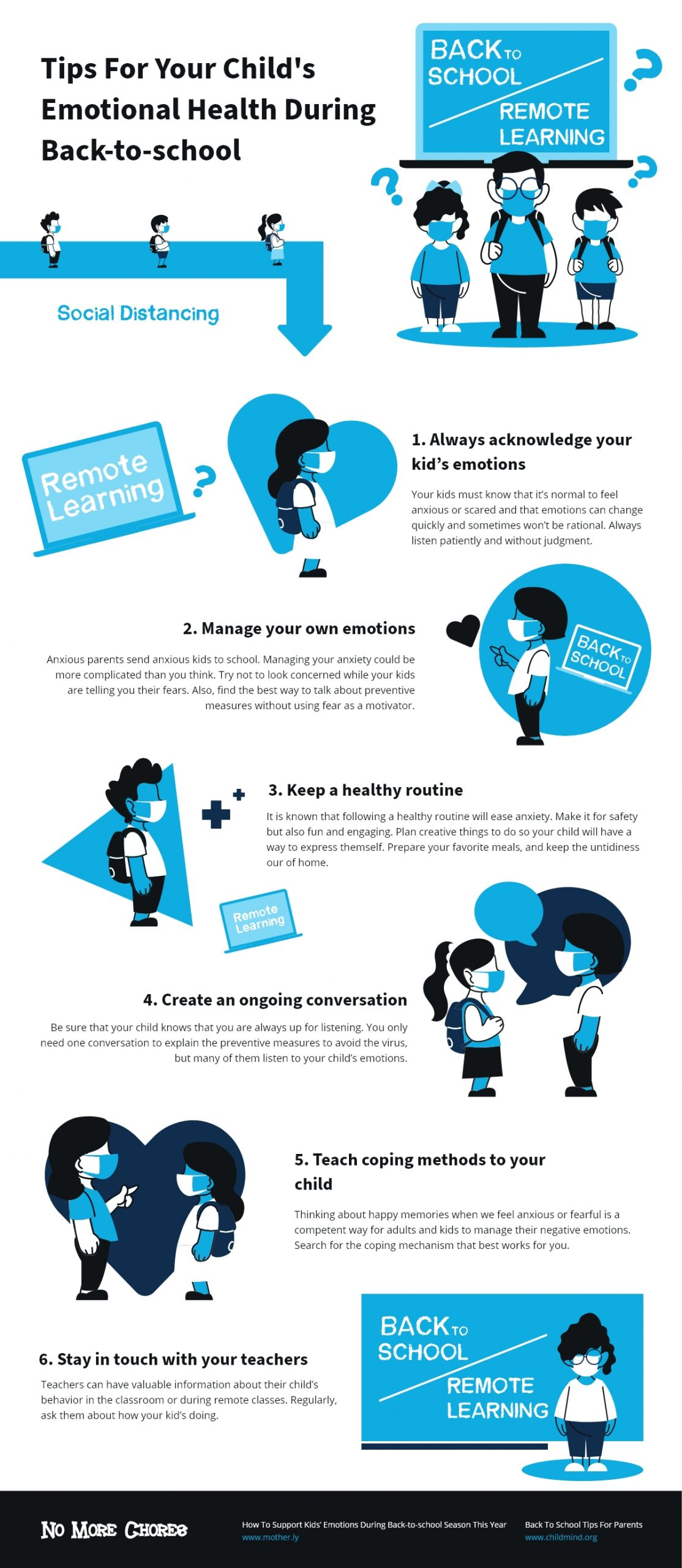 Tips for Child's emotional health during back to school